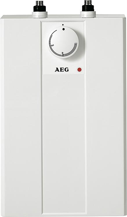 aeg offene elektrischer kleinspeicher 5 liter huz basis untertischger t elektro boiler. Black Bedroom Furniture Sets. Home Design Ideas