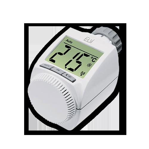 max smart home system heizk rperthermostat standard elektronischer funk thermostat. Black Bedroom Furniture Sets. Home Design Ideas