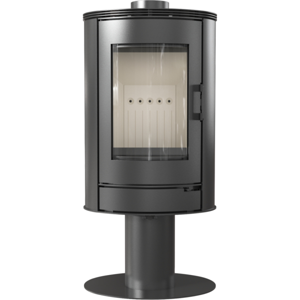 kaminofen kratki koza ab s n o 360 grad drehbarer kamin ofen 8 kw solarprofi shop. Black Bedroom Furniture Sets. Home Design Ideas